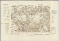 Street Map of Manchester, England with Military-Geographic Features. BB 12e.