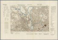 Street Map of Manchester, England with Military-Geographic Features. BB 12f.