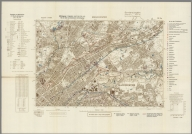 Street Map of Manchester, England with Military-Geographic Features. BB 12g.