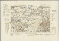Street Map of Manchester, England with Military-Geographic Features. BB 12h.