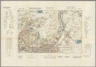 Street Map of Manchester, England with Military-Geographic Features. BB 12i.