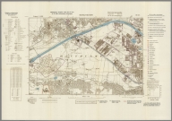 Street Map of Manchester, England with Military-Geographic Features. BB 12k.