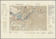 Street Map of Manchester, England with Military-Geographic Features. BB 12l.