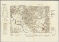 Street Map of Manchester, England with Military-Geographic Features. BB 12p.