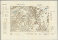 Street Map of Manchester, England with Military-Geographic Features. BB 12q.