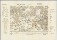 Street Map of Manchester, England with Military-Geographic Features. BB 12r.