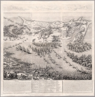 (The Siege of the Citadel of Saint Martin on the Isle de Re)