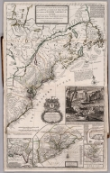 Dominions of the King of Great Britain on ye Continent of North America.