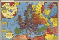 World War II map. by Stanley Turner