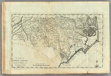 State of North Carolina. / Carey, Mathew ; Lewis, Samuel / 1795