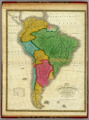Map of South America. / Mitchell, Samuel Augustus / 1831