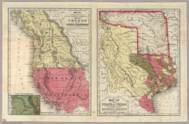 Geographical Description Of The State Of Texas. / Thomas, Cowperthwait & Co. ; Mitchell, Samuel Augustus / 1846