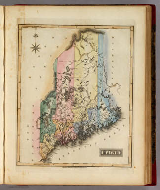 Maine. / Lucas, Fielding Jr. / 1823