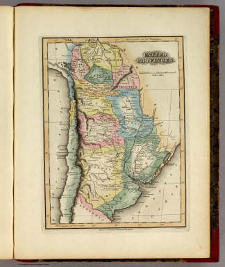 United Provinces. / Lucas, Fielding Jr. / 1823
