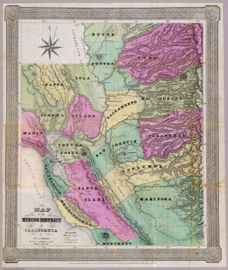 Mining District of California. / Jackson, William A. / 1851