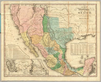 map of the united states of mexico tanner henry s 1846