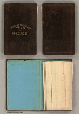 (Covers to) A Map Of The United States Of Mexico, As organized and defined by the several Acts of the Congress of that Republic. Constructed from a great variety of Printed and Manuscript Documents by H.S. Tanner. Third Edition, 1846. Published by H.S. Tanner. Entered ... 1846, by H.S. Tanner ... New York. (inset) Map Of The Roads &c. From Vera Cruz & Alvarado To Mexico.