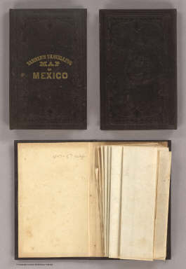 (Covers to) A Map Of The United States Of Mexico, As organized and defined by the several Acts of the Congress of that Republic. Constructed from a great variety of Printed and Manuscript Documents by H.S. Tanner. Fifth edition, 1847. Published by H.S. Tanner. Entered ... 1846, by H.S. Tanner ... New York. (inset) Map Of The Roads &c. From Vera Cruz & Alvarado To Mexico. (inset) Harbor Of Vera Cruz.