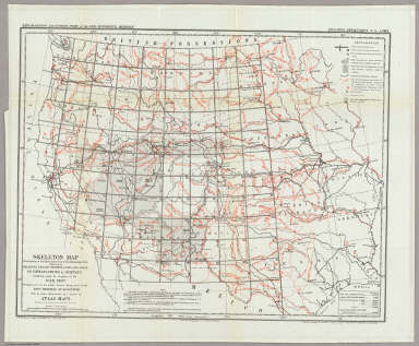 Map Of the Territory of the United States west of the Mississippi