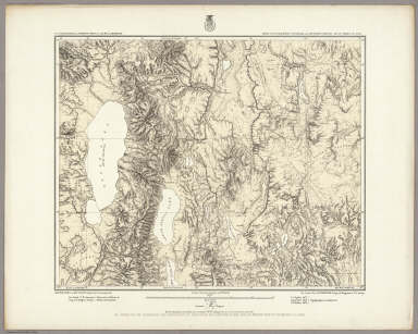 Parts Of N.E. California, N.W. Nevada And Southern Oregon. Atlas Sheet No. 38 B. Issued June 30th, 1882. Weyss, Rock and Karl, Del. Expeditions of 1877 & 1878 Under the Command of 1st Lieut. Geo. M. Wheeler, Corps of Engineers, U.S. Army. U.S. Geographical Surveys West Of The 100th Meridian.