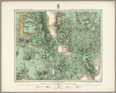 Land Classification Map Of Parts Of N.E. California & N.W. Nevada, Atlas Sheet No. 38(D.). Issued Nov 15th, 1880. Herman, Franke, and Rock, Del. Expedition of 1877 Under the Command of 1st Lieut. Geo. M. Wheeler, Corps of Engineers, U.S. Army. U.S. Geographical Surveys West Of The 100th Meridian.