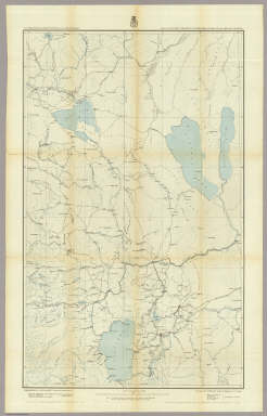 Parts Of Eastern California And Western Nevada, Atlas Sheets 47(B) & 47(D). Expeditions of 1876 and 1877, Under the Command of 1st. Lieut. Geo. M. Wheeler, Corps of Engineers, U.S. Army. Executive Officers and Field Astronomers: 1st. Lieut. S.E. Tillman, Corps of Engineers U.S. Army, 2nd Lieuts. T.W. Symons, Corps of Engineers U.S. Army and M.M. Macomb, 4th Artillery U.S. Army. Topographical Assistants: Gilbert Thompson, J.C. Spiller, Anton Karl, Frank Carpenter, W.A. Cowles. U.S. Geographical Surveys West Of The 100th Meridian.