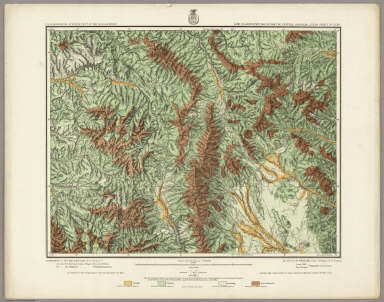 Land Classification Map Of Part Of Central Colorado, Atlas Sheet No. 52(D). Weyss, Nell & Rock, Del. Expeditions of 1873, 1876 & 1879 Under the Command of 1st. Lieut. Geo. M. Wheeler, Corps of Engineers, U.S. Army. Executive Officers & Field Astronomers: 1st. Lieuts., Corps of Engr's. W.L. Marshall and Eric Bergland. Topographical Assistants: Louis Nell and Jno. J. Young. U.S. Geographical Surveys West Of The 100th Meridian.
