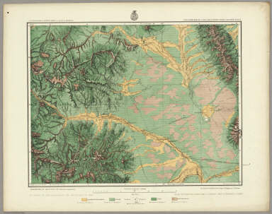 Land Classification Map Of Part Of South Western Colorado, Atlas Sheet 61 (D). Issued Jan. 10th 1878. Reissued June 30th 1879. Weyss, Lang & Herman Del. Expeditions of 1873, '74, '75 & '76 Under the Command of 1st. Lieut. Geo. M. Wheeler, Corps of Engineers, U.S. Army. U.S. Geographical Surveys West Of The 100th Meridian.