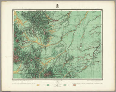 Land Classification Map Of Part Of Southern Colorado, Atlas Sheet No. 62 (C). Issued Mar. 14th 1878. Weyss, Lang & Herman, Del. Expeditions of 1873, 1874, 1875 & 1876, Under the Command of 1st. Lieut. Geo. M. Wheeler, Corps of Engineers, U.S. Army. U.S. Geographical Surveys West Of The 100th Meridian.