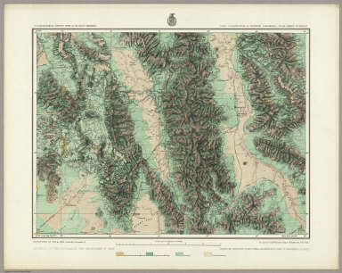 Land Classification Of Eastern California, Atlas Sheet No. 65 (D.). Issued May 7th 1877. Weyss, Nell & Lang, Del. Expeditions of 1871 & 75. Under the Command of 1st. Lieut. Geo. M. Wheeler, Corps of Engineers, U.S. Army. U.S. Geographical Surveys West Of The 100th Meridian.
