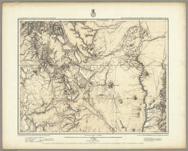 Parts Of South'n Colorado & North'n New Mexico, Atlas Sheet No. 69(B). Issued Jan'y 8th 1878. Weyss, Lang & Herman Del. Expeditions of 1874-75 & 77, Under the Command of 1st. Lieut. Geo. M. Wheeler, Corps of Engineers, U.S. Army. Executive Officers & Field Astronomers: Geo. M. Wheeler, Wm. L. Marshall, C.W. Whipple, C.C. Morrison. Topographical Assistants: L. Nell, G. Thompson, F.A. Clark, W.A. Cowles, A. Karl, J.C. Spiller, F.O. Maxson. U.S. Geographical Surveys West Of The 100th Meridian.