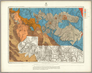 Parts Of Central & Western Arizona - Atlas Sheet No. 75. Issued Feb'y. 15 1877. Weyss, Herman & Lang Del. Expeditions of 1871, 1872 & 1873, Under the Command of 1st. Lieut. Geo. M. Wheeler, Corps of Engineers, U.S. Army. Geological Assistants: Prof. Jul. Marcou, G.K. Gilbert, A.R. Marvine. U.S. Geographical Surveys West Of The 100th Meridian.