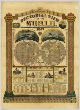 Pictorial View of the World. / Phelps, Humphrey / 1847