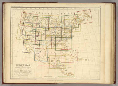 Index Map. Explanation of Signs Used In The Atlas. / Rogers, Henry Darwin ; Johnston, Alexander Keith, 1804-1871 / 1857