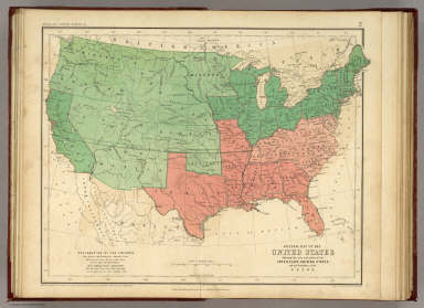 Map of the United States. / Rogers, Henry Darwin ; Johnston, Alexander Keith, 1804-1871 / 1857