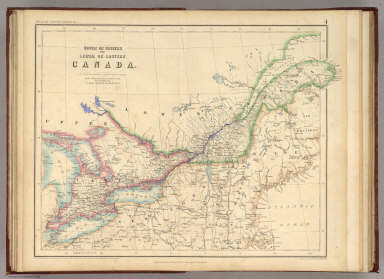Upper Or Western And Lower Or Eastern Canada. / Rogers, Henry Darwin ; Johnston, Alexander Keith, 1804-1871 / 1857