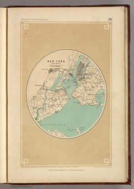 New York and its Environs. / Rogers, Henry Darwin ; Johnston, Alexander Keith, 1804-1871 / 1857