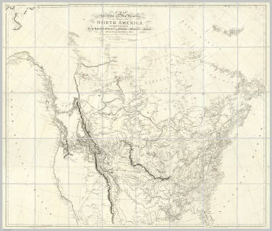 A Map Exhibiting all the New Discoveries in the Interior Parts of North America Inscribed by Permission To the Honorable Governor And Company Of Adventurers Of England Trading Into Hudson Bay In testimony of their liberal Communications To their most Obedient and very Humble Servant, A. Arrowsmith, Hydrographer to H.R.H. the Prince of Wales. No. 10 Soho Square, January 1st 1795. Additions to 1811. Additions to 1814. London: Published Jan. 1, 1795 by A. Arrowsmith No. 10 Soho Square. Additions to 1802 ...