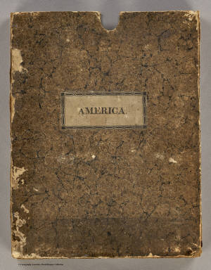 Cover: New discoveries, interior parts, North America. / Arrowsmith, Aaron / 1814