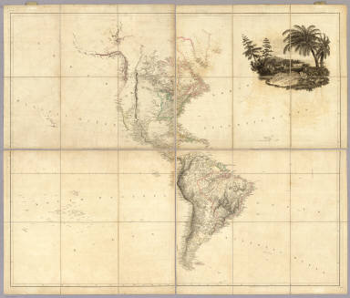 Map of America by A. Arrowsmith, Hydrographer to H.R.H. the Prince of Wales. 1804. W. & G. Cooke, Sculp. London. Published 4th September 1804 by A. Arrowsmith No. 10 Soho Square ... Engraved by W. West, the Hills by H. Wilson.
