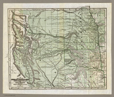 Indian Territory, Northern Texas and New Mexico. / Gregg, Josiah, 1806-1850 / 1844