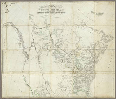 A Map Exhibiting all the New Discoveries in the Interior Parts of North America, Inscribed by Permission To the Honorable Governor and Company of Adventurers of England Trading into Hudsons Bay. In testimony of their liberal Communications. To Their most Obedient and very Humble Servant, A. Arrowsmith. Hydrographer to H.R.H. the Prince of Wales. No. 10 Soho Square. January 1st, 1795. Additions to 1811. Puke Sc.