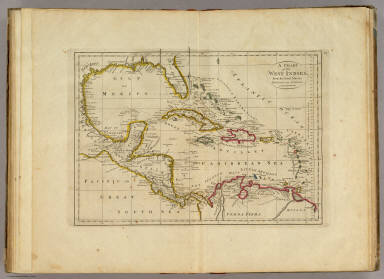 Chart of the West Indies. / Carey, Mathew / 1814