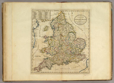 Map of England and Wales. / Carey, Mathew / 1814