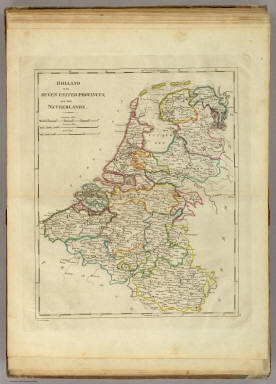 Holland Or The Seven United Provinces, And The Netherlands. / Carey, Mathew / 1814