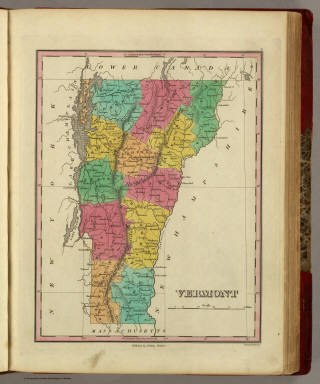 Vermont. Published by A. Finley Philada. Young & Delleker Sc.