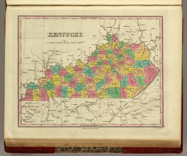 Kentucky. Published by A. Finley Philada. Young & Delleker Sc.