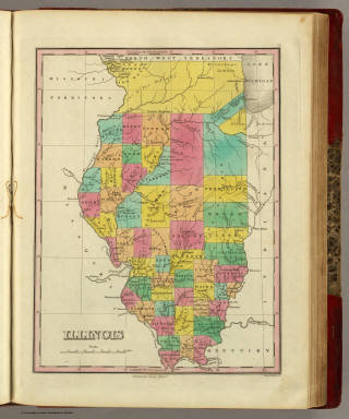 Illinois. Published by A. Finley Philada. Young & Delleker Sc.