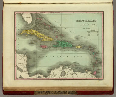 West Indies. Published by A. Finley Philada. Young & Delleker Sc.