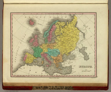 Europe. Published by A. Finley Philada. Young & Delleker Sc.